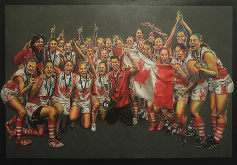 IC14 Women Champions: Canada