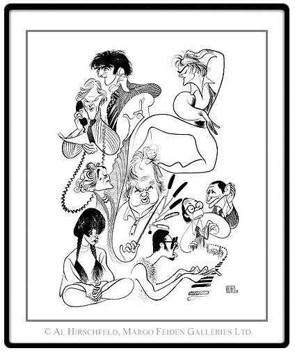 Hirschfeld: Major Cultural Figures