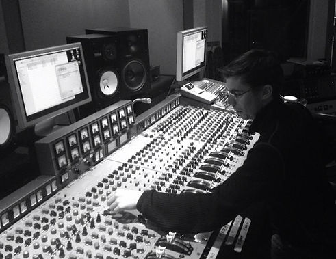 Mixing on State Of The Ark's EMI TG Console
