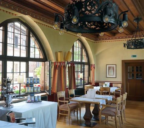 Restaurant des Romantik Hotel Wartburg