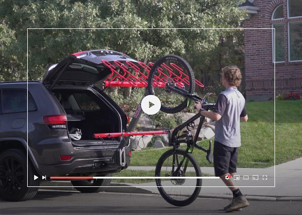 VelociRAX bike racks YouTube video