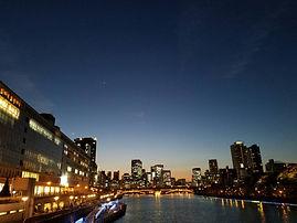 天満橋から見る夜景