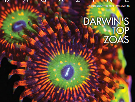 Reef Hobbyist Magazine Q3 2021 - Front Cover!