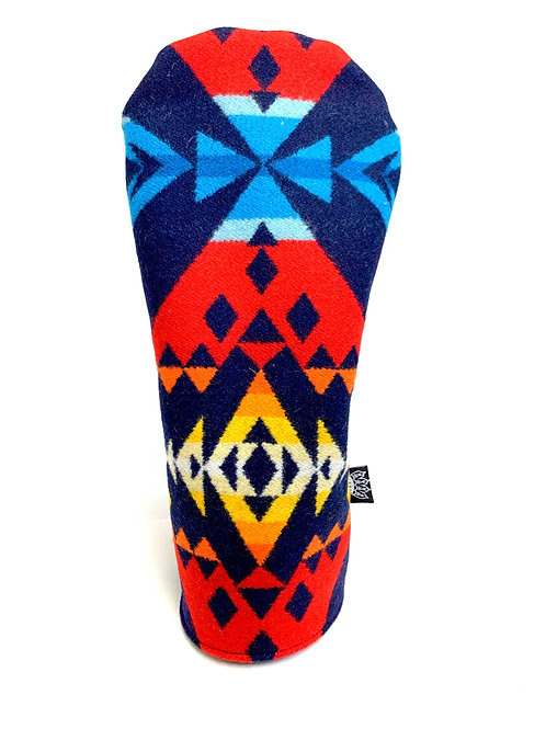 Pendleton Cover (Driver) Blue/Red #2