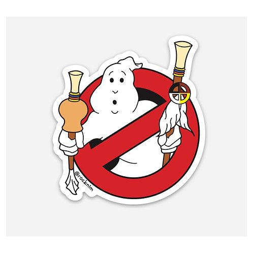 Ghost Buster Sticker