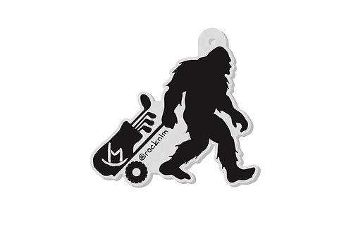 Rock'n LM Bigfoot Golf Keychain