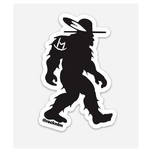 Rock'n LM Rez Bigfoot Sticker