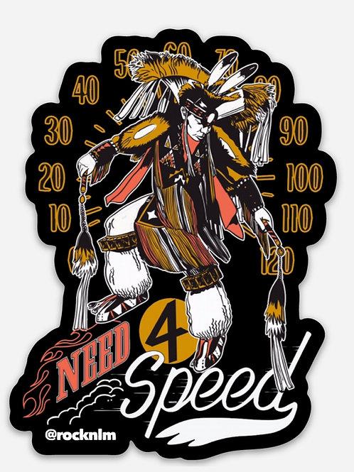 Need 4 Speed Sticker
