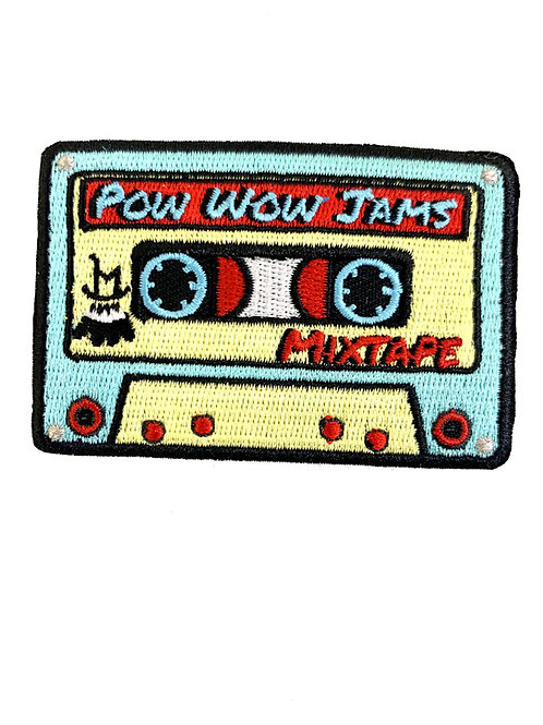 Rock'n LM Pow Wow Mixtape Patch