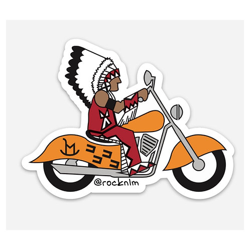 Fiyah Chief Sticker