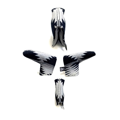 Pendleton Blade Putter Cover (Black/Gray/White)