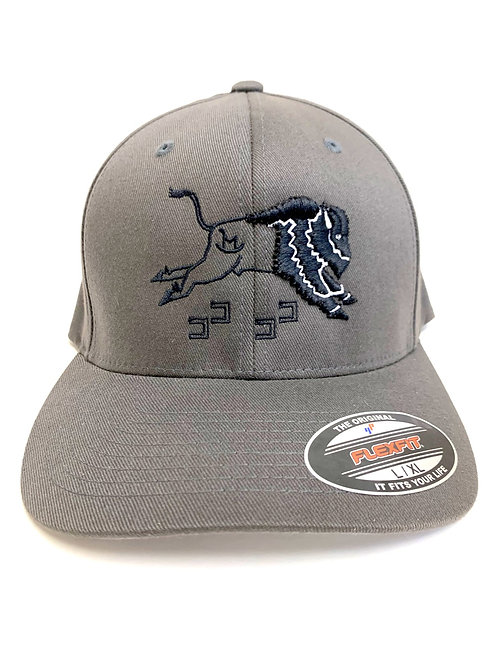 Flexfit Curved Bill Caps L/XL (Dancin' Buffalo)