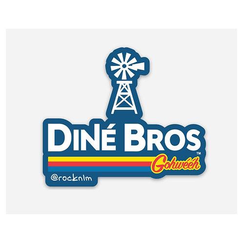 Dine' Bros Sticker
