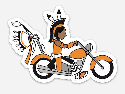 Road Warrior Sticker