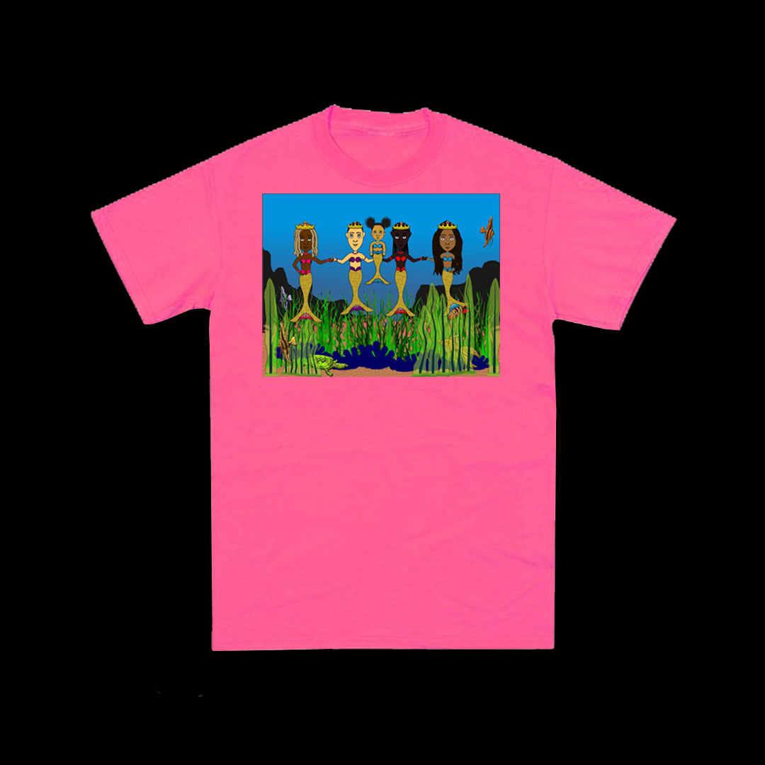 Youth Pink Mermaid T-shirt