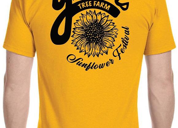 Yenser's Tree Farm Sunflower T-Shirt