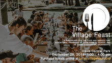SAVE THE DATE-                                Village Feast September 28th