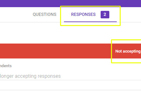Managing Google Forms Quizzes