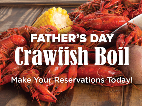 Treat Dad to a Crawfish Boil on Father's Day