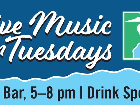 Live Music on Tuesdays