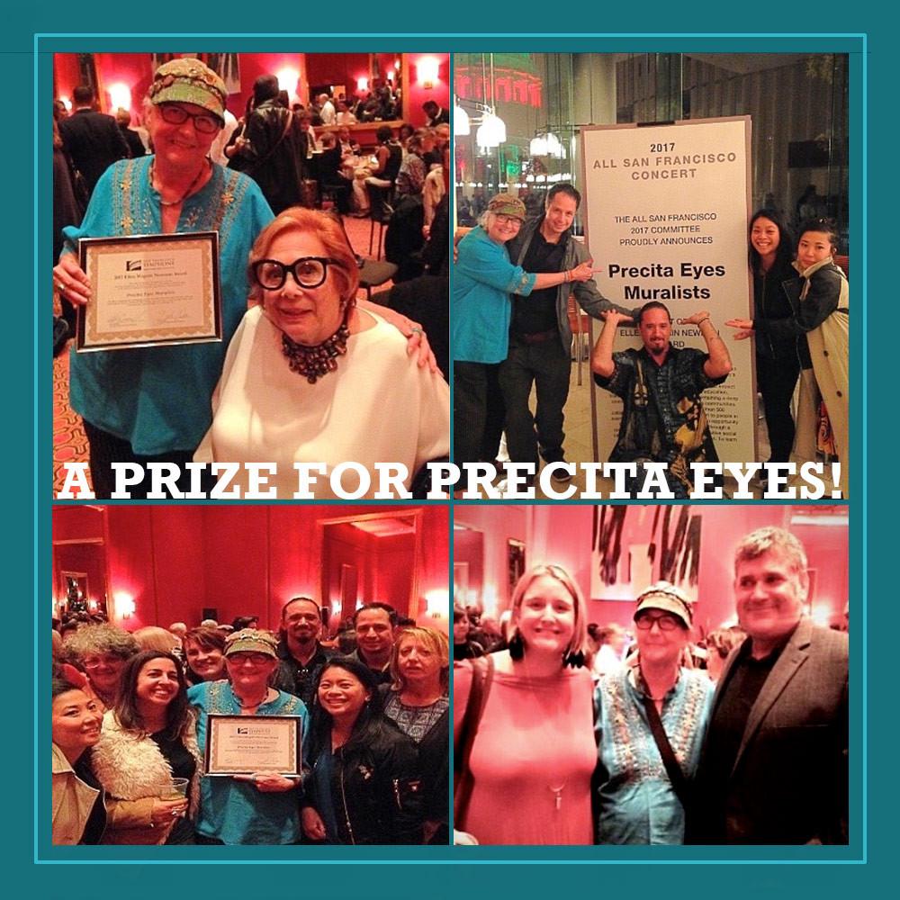 Precita Eyes Prize event photos
