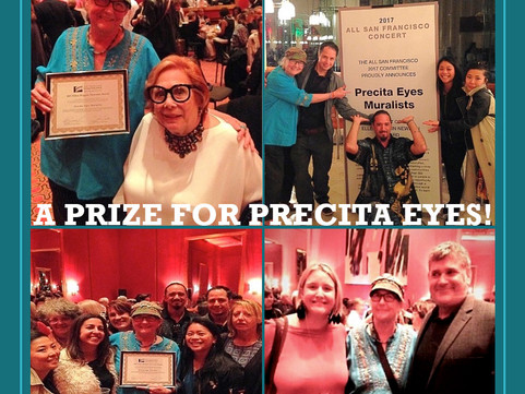A Prize for Precita Eyes Muralists!