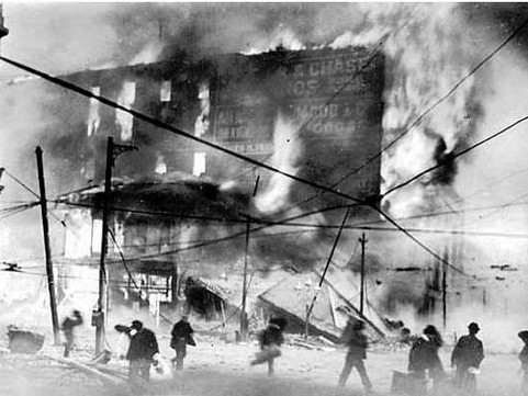 The Heroic Stop of the 1906 Great Fire