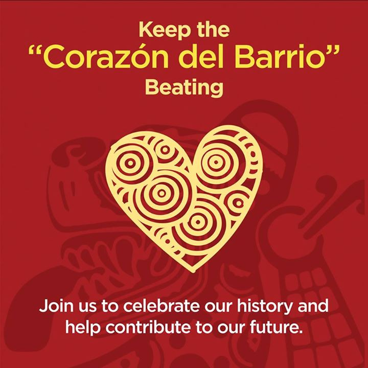 "This year MCCLA celebrates our 40th Anniversary as a cultural force in the Mission. Let's keep the ""Corazon del Barrio"" Beating!"