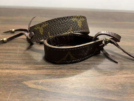 LV Upcycle Cuff