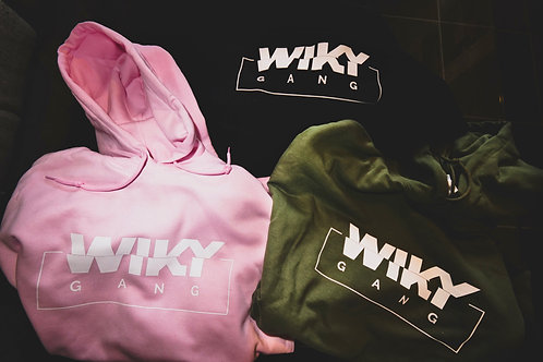 Sweat à capuche avec logo Wiky Gang