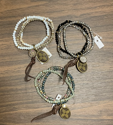 Beaded LV Upcycle sets