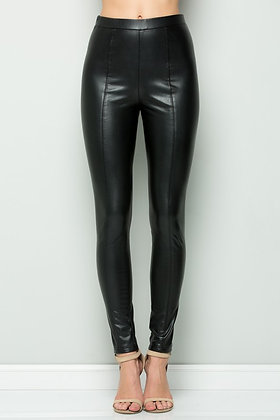 See and Be Seen Faux Leather Leggings