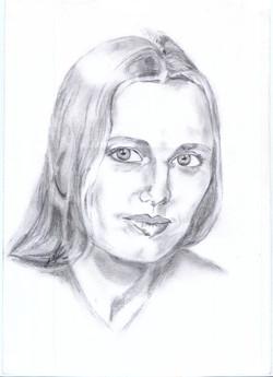 Portrait Bleistift