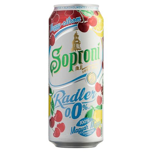 Soproni Non-alcoholic 24 *0.5L Cherry (case)