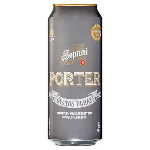Soproni Porter 24 *0.5 L 5.2% (case)