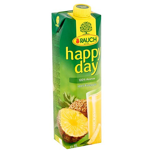 Rauch Happy Day Pineapple Juice 12*1 L