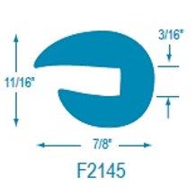 F2145 Flexible U Molding