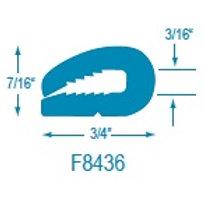 F8436 Flexible U Molding