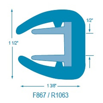 R1063 Flexible Rigid Insert: F867 Base