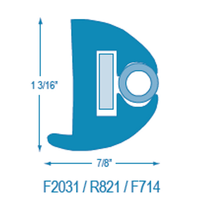 F2031 / R821 Flexible RR with Stiffener (takes F714 Insert)