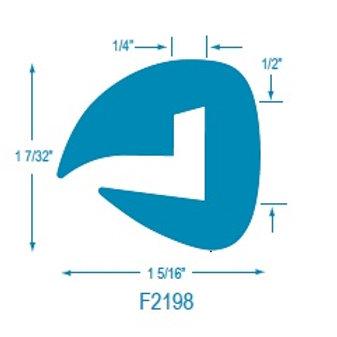 F2198 Flexible U Molding
