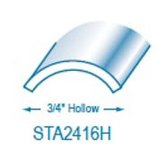 """STA2416HI: 3/4"""" Hollow Stainless Steel"""
