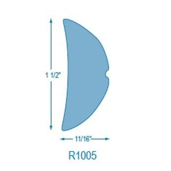 R1005 Rigid Half Oval