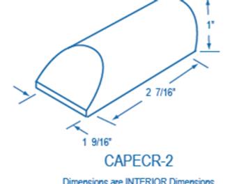 CAPECR-2 Plastic End Cap