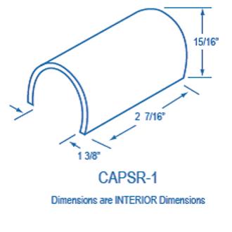CAPSR1 Plastic Splice Cap