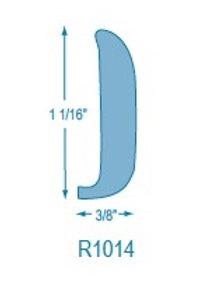 R1014 Rigid Solid Rubrail