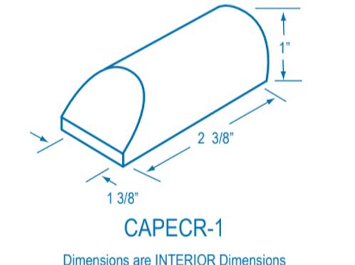 CAPECR-1 Plastic End Cap
