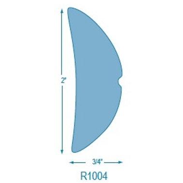 R1004 Rigid Half Oval