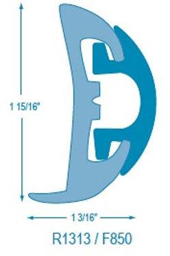 R1313 Rigid Rubrail (takes F850 Flexible Insert)