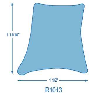 R1013 Rigid Toe Rail